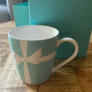 Tiffany & Co. bone china mug